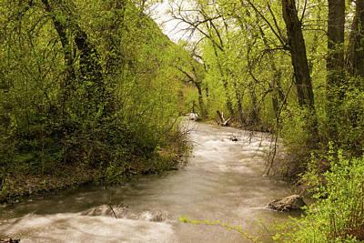 Vintage Movie Stars - Cowiche Creek by Jeff Swan