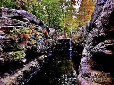 Photograph - Split Rock At Coxing Kill by Cornelia DeDona