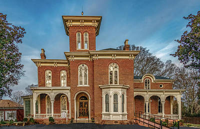 Photograph - Craigmiles House, Historic Treasure Of Cleveland, Tennessee by Marcy Wielfaert