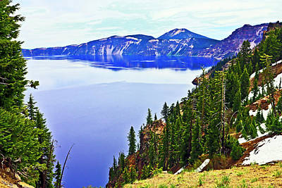 World Forgotten - Crater Lake 06 24 20 by Joyce Dickens