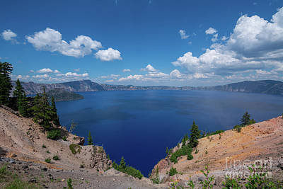 Royalty-Free and Rights-Managed Images - Crater Lake  by Michael Ver Sprill