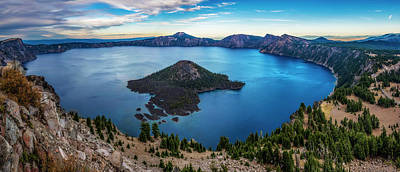 Giuseppe Cristiano - Crater Lake by Pelo Blanco Photo