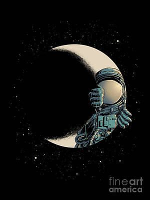 Pixel Art Mike Taylor - Crescent Moon by Digital Carbine