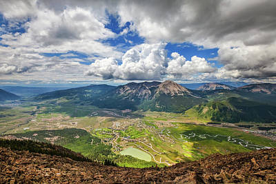 Royalty-Free and Rights-Managed Images - Crested Butte Clouds by Darren White