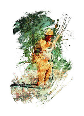 Sports Royalty-Free and Rights-Managed Images - Cricket match by All Sport Art