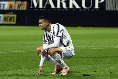 Sports Royalty-Free and Rights-Managed Images - Cristiano Ronaldo Juventus by Michael Stout