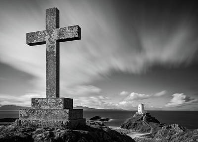 Summer Trends 18 - Cross at Twr Mawr Lighthouse by Dave Bowman