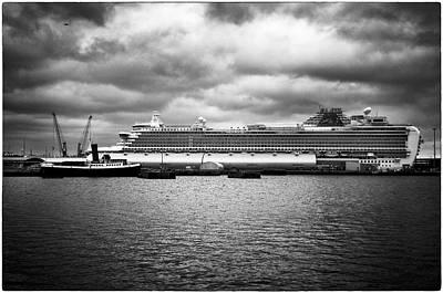 Photograph - Cruise Ship Drama by Lenny Carter