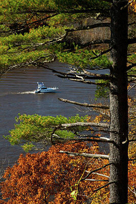 Whats Your Sign - Cruising Up The Connecticut River by Karol Livote