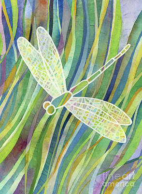 Abstract Oil Paintings Color Pattern And Texture - Crystal Wings 2 by Hailey E Herrera