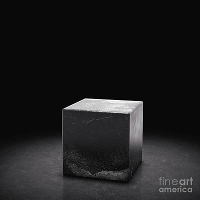 Revolutionary War Art - Cube pedestal for product showcase and presentation by Michal Bednarek