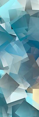 Digital Art - Cubism Abstract 204 by Chris Butler