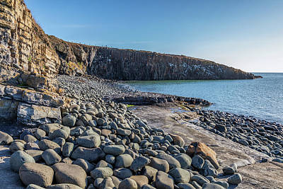 Photograph - Cullernose Point sea0055 by David Pringle
