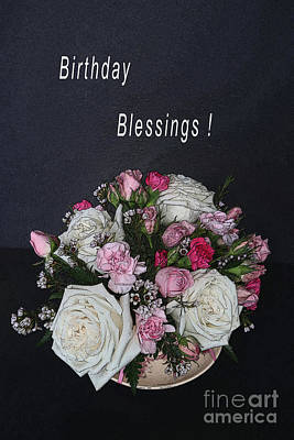 Studio Grafika Typography - Cupful of Blessings Card by Ann Horn