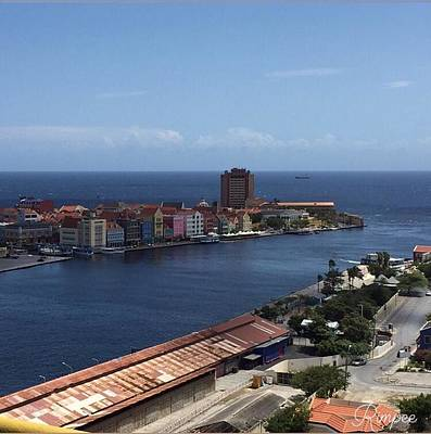 Namaste With Pixels Royalty Free Images - Curacao Royalty-Free Image by Rimpee Gill