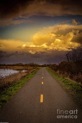 Clouds Rights Managed Images - Cyclepath Royalty-Free Image by Mitch Shindelbower