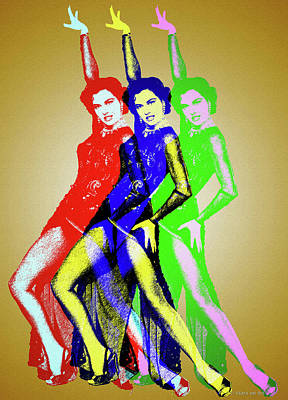Royalty-Free and Rights-Managed Images - Cyd Charisse by Stars on Art