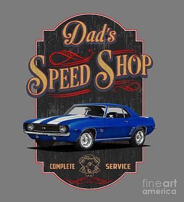 Owls - Dads Speed Shop by Paul Kuras