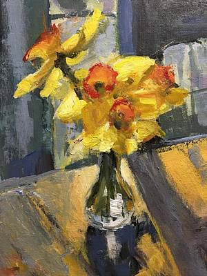 Recently Sold - Susan Elizabeth Jones Royalty-Free and Rights-Managed Images - Daffodil Bouquet by Susan Elizabeth Jones