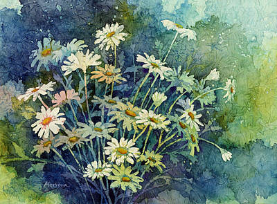Painting Rights Managed Images - Daisy Bouquet Royalty-Free Image by Hailey E Herrera