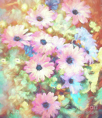 Animal Paintings David Stribbling - Daisy Daydream by Tina LeCour
