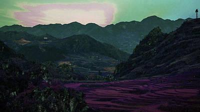 Surrealism Royalty Free Images - Dak Ya, Vietnam - Surreal Art by Ahmet Asar Royalty-Free Image by Celestial Images