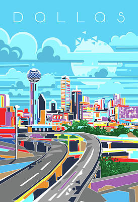 Royalty-Free and Rights-Managed Images - Dallas City Modern by Bekim M