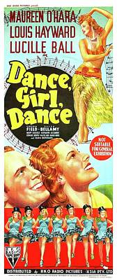 Royalty-Free and Rights-Managed Images - Dance,Girl, Dance - 1940 by Stars on Art