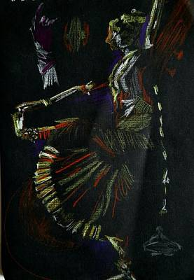 Painting - Dancer by Naini Kumar