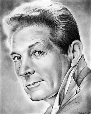 Royalty-Free and Rights-Managed Images - Danny Kaye - Pencil by Greg Joens