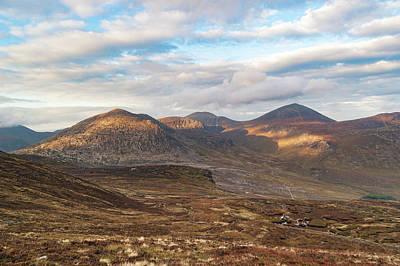 Photograph - Dappled Mournes by Darren Forde