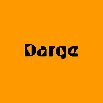 Digital Art - Darge by TintoDesigns