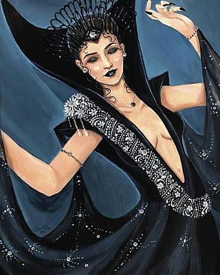 Painting - Dark Lili by April Mae