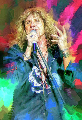 Marvelous Marble - David Coverdale by Mal Bray
