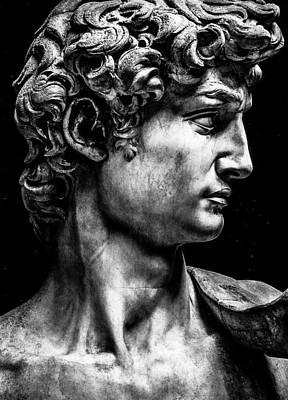 Fruits And Vegetables Still Life - David Michelangelo Renaissance Profile Man Men by Tony Rubino