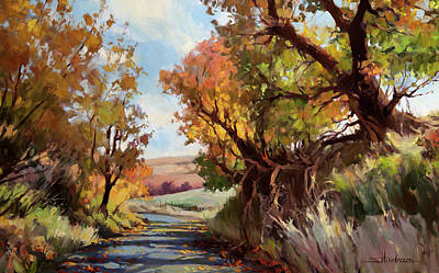 Royalty-Free and Rights-Managed Images - Davis Hollow Country Road by Steve Henderson