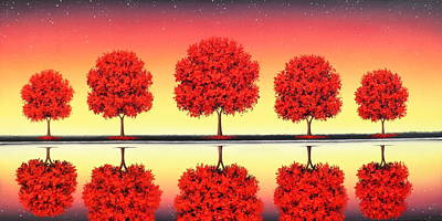 Royalty-Free and Rights-Managed Images - Daylight Slips Away by Rachel Bingaman
