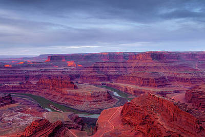 Royalty-Free and Rights-Managed Images - Dead Horse Point Dawn by Andrew Soundarajan