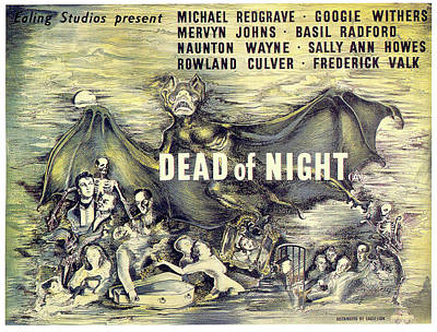 Mixed Media Royalty Free Images - Dead of Night movie poster 1945 Royalty-Free Image by Stars on Art