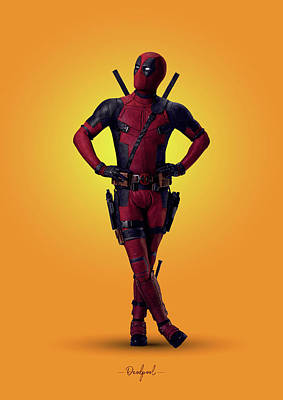 Royalty-Free and Rights-Managed Images - Deadpool - Marvel by Samuel Whitton