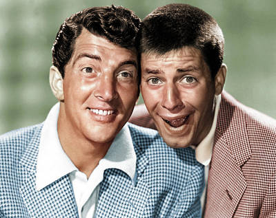 Royalty-Free and Rights-Managed Images - Dean Martin and Jerry Lewis by Stars on Art
