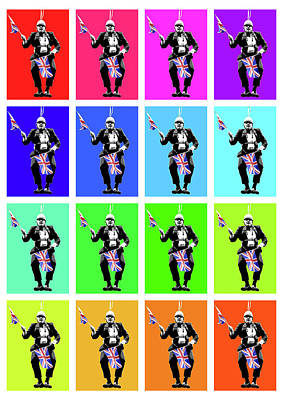 Giuseppe Cristiano - Dear Leader x 16 by Gary Hogben