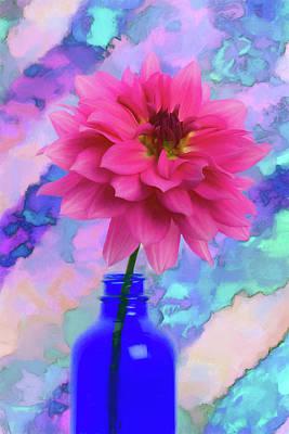 Keith Richards - Decadent Dahlia  by Amy Jackson