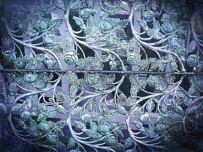 Photograph - Decorative Wrought Iron by Debbie Smith