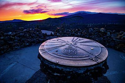 Keith Richards - Dee Wright Observatory Sunset by Pelo Blanco Photo