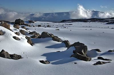 Fathers Day 1 - Deep Snow on the Mauna by Heidi Fickinger