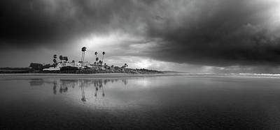 Photograph - Del Mar Stormy Sunset by William Dunigan