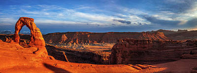 Staff Picks Judy Bernier - Delicate Arch Panorama by Andrew Soundarajan