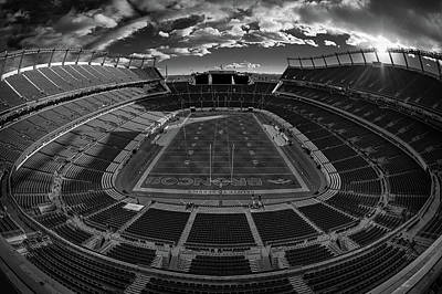 Sports Royalty-Free and Rights-Managed Images - Denver Broncos #68 by Robert Hayton