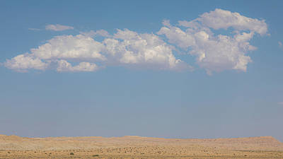 Caravaggio - Desert-ed Clouds by Peter Tellone
